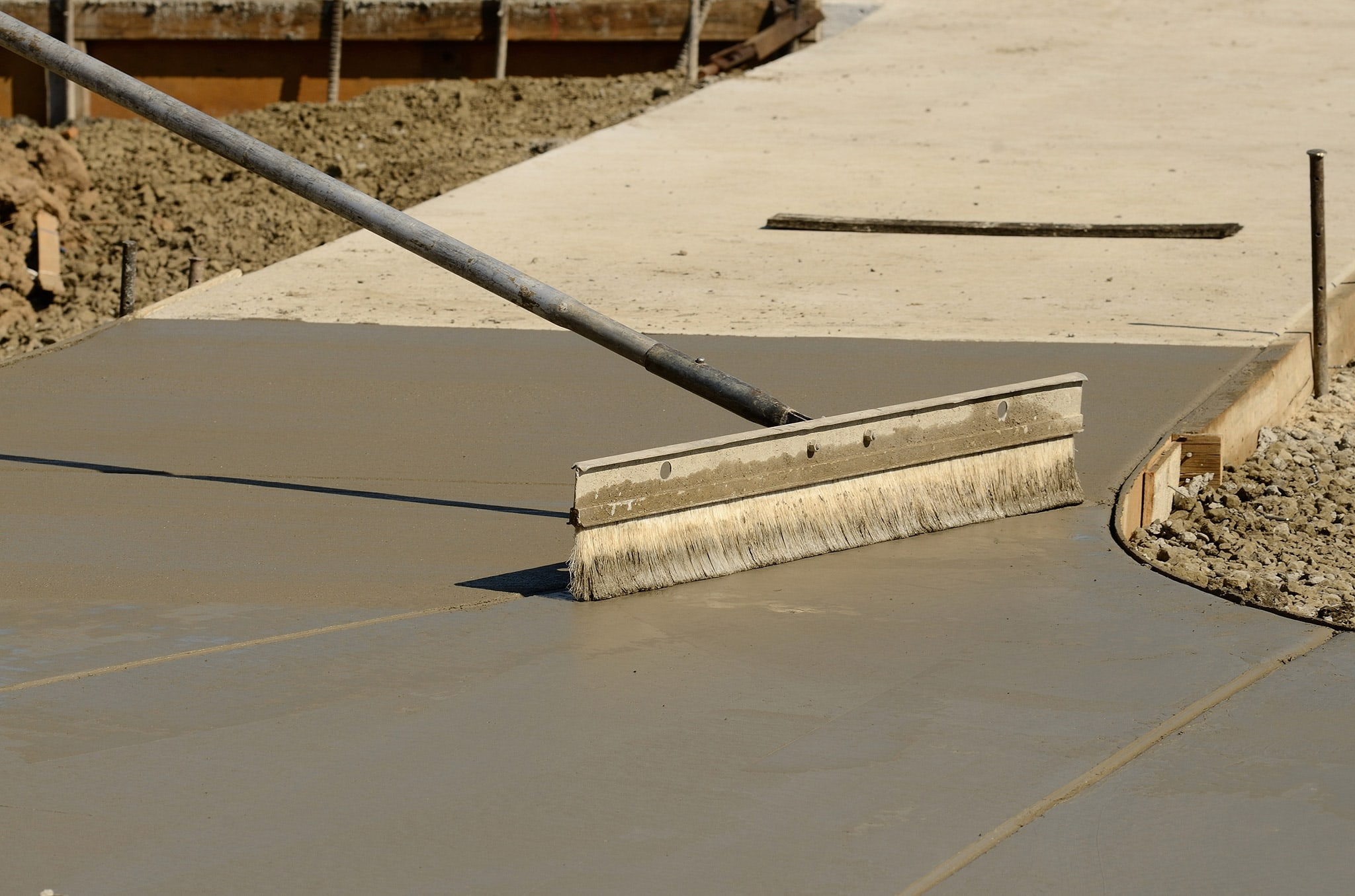 Eastern Paving CT concrete installation